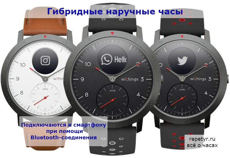 Гибридные часы